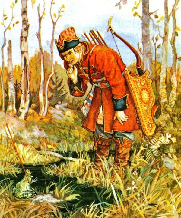 лягушка и иван царевич картинки